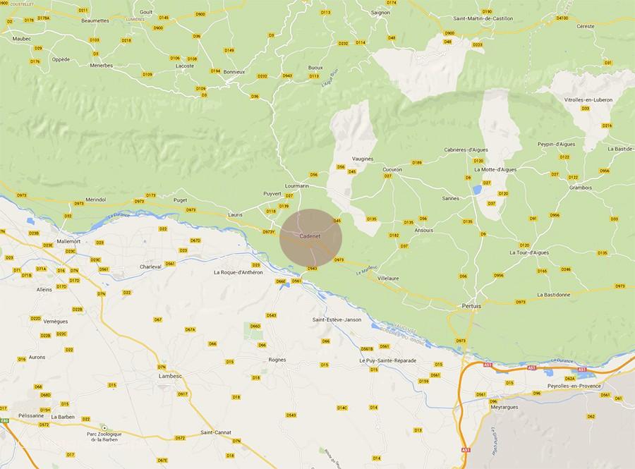 Cadenet Provence rentals