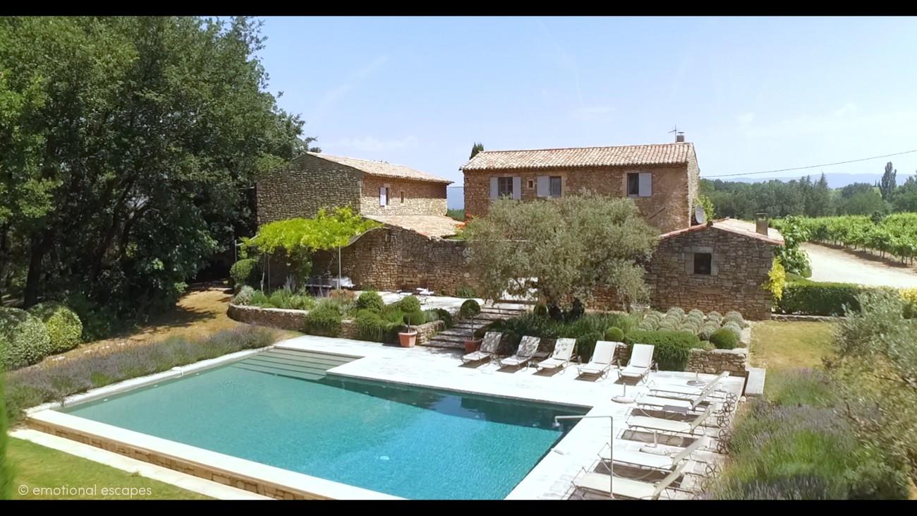 south france villa Bonnieux