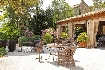 chateauneuf du pape vineyard Domaine du Gourmet