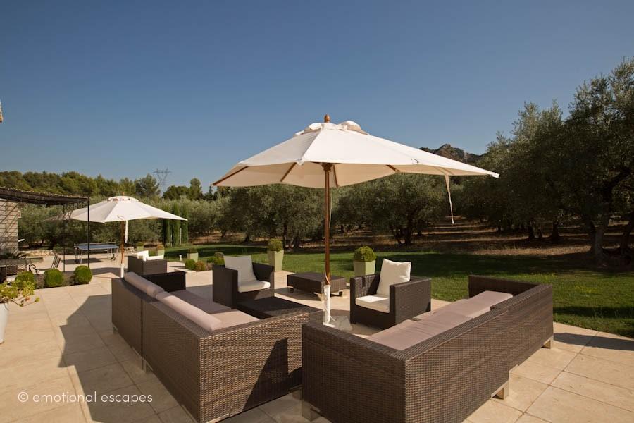 holiday rentals avignon Villa Roches Blanches