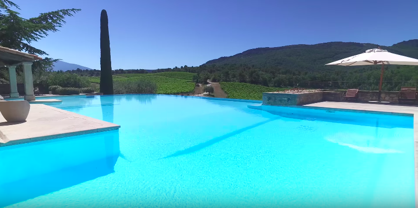 Domaine des dentelles villa in provence